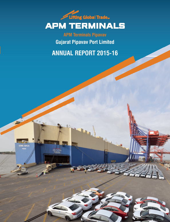 Gujarat Pipavav Port   annual report