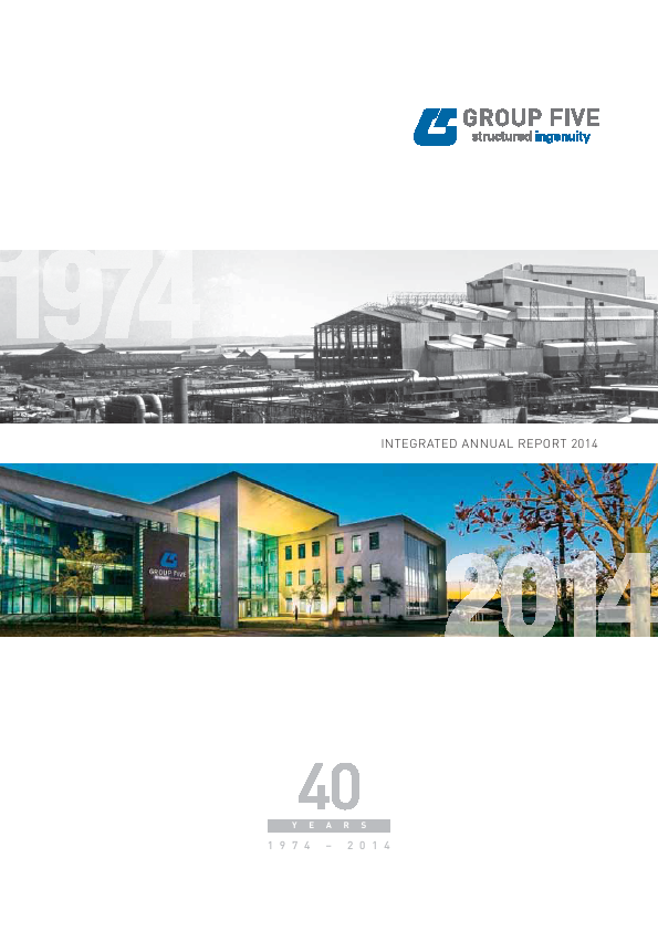 Group Five   annual report