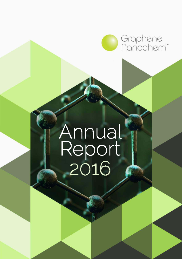 Graphene Nanochem Plc   annual report