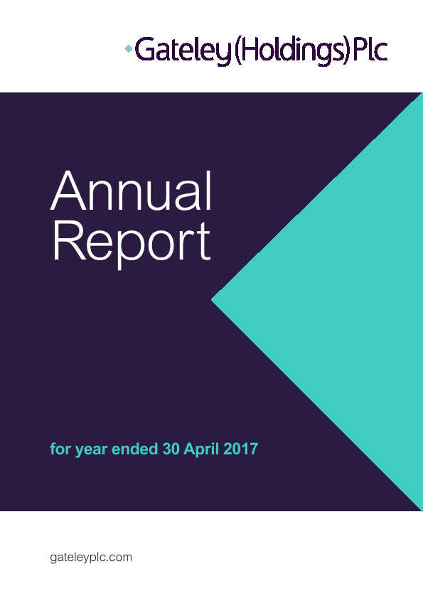 Gateley Holdings Plc   annual report