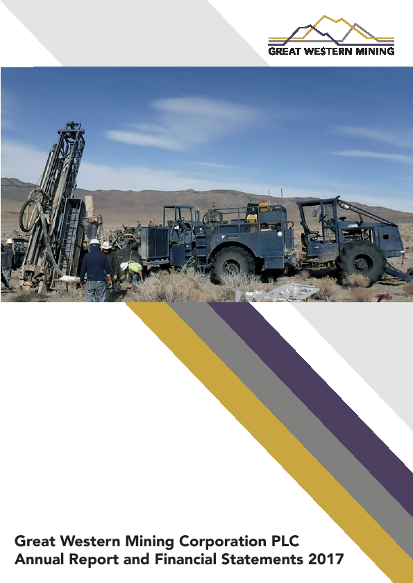 Great Western Mining Corp Plc   annual report
