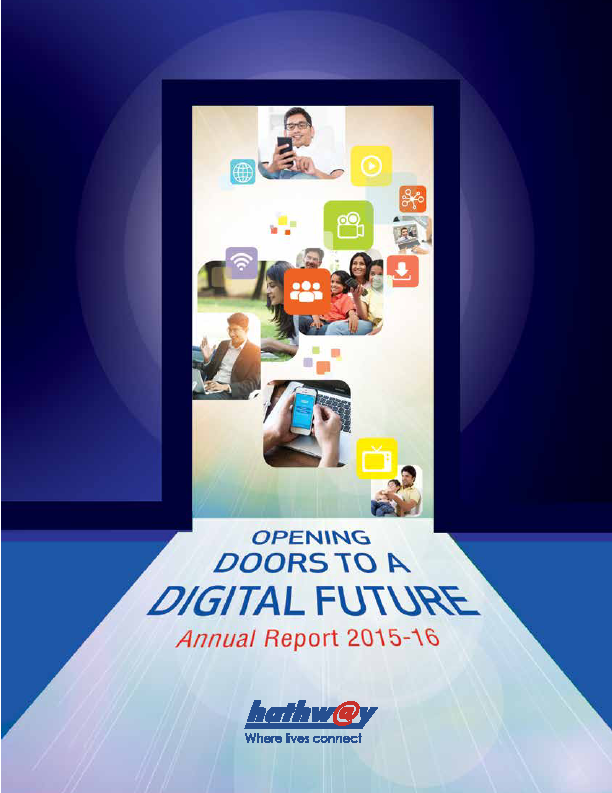 Hathway Cable and Datacom   annual report