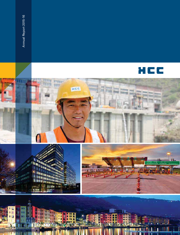 Hindustan Construction Co.   annual report