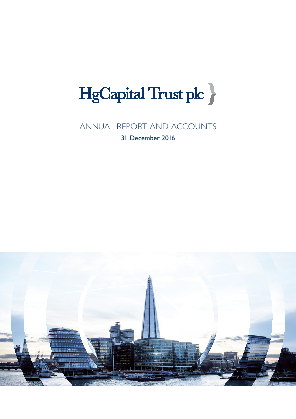 HG Capital Trust   annual report