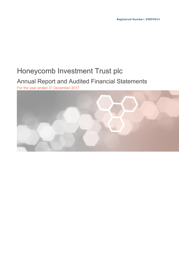 Honeycomb Investment Trust   annual report