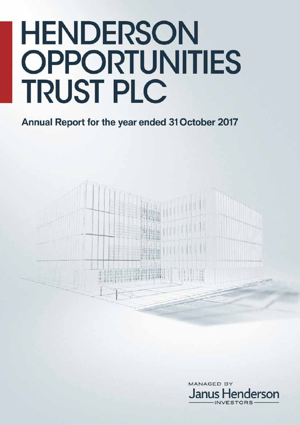 Henderson Opportunities Trust Plc   annual report