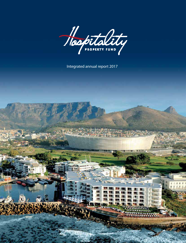 Hospitality Property Fund   annual report