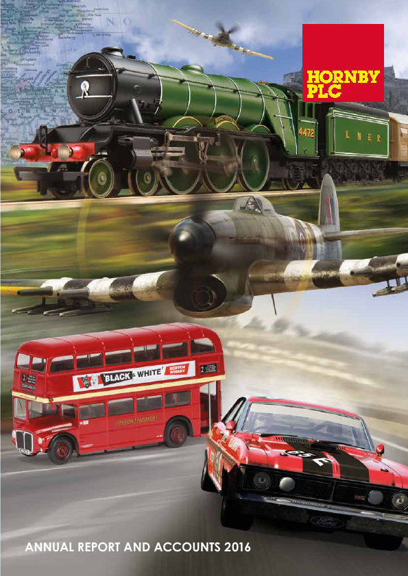 Hornby Plc   annual report