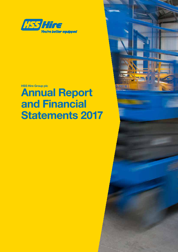 HSS Hire Group Plc   annual report