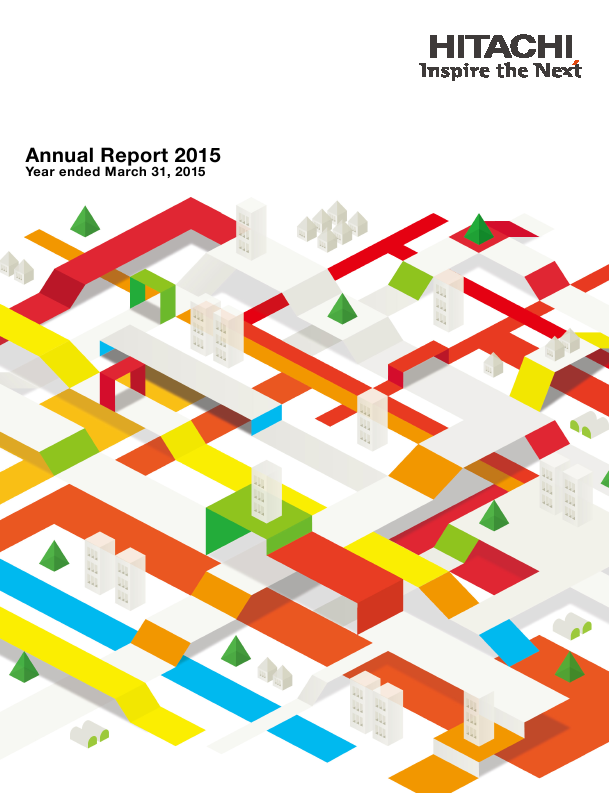 Hitachi   annual report