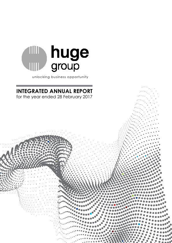 Huge Group   annual report