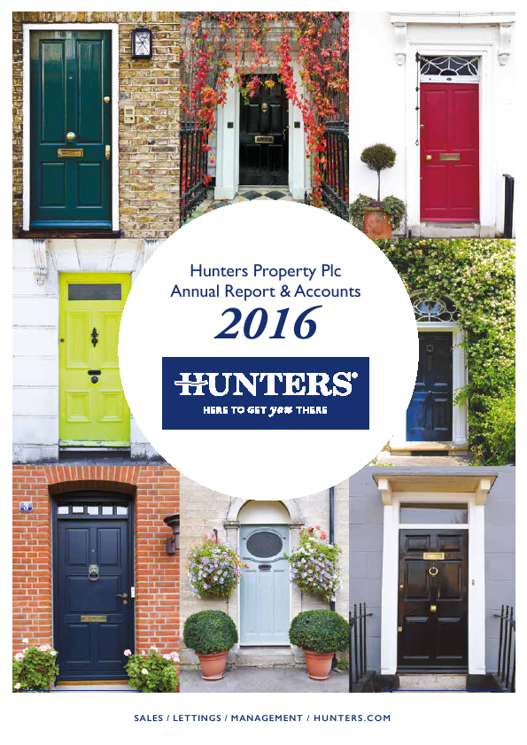 Hunters Property Plc   annual report