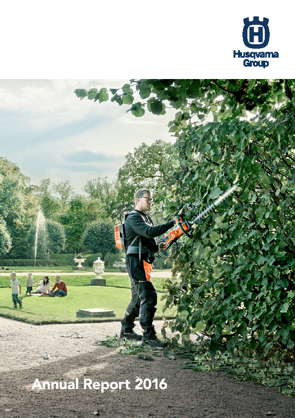 Husqvarna   annual report