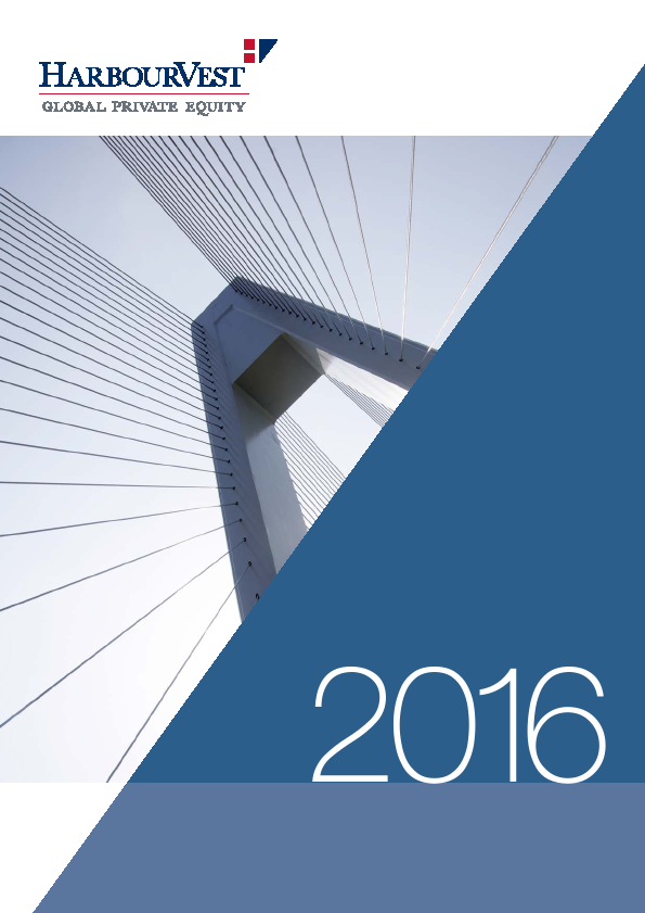 Harbourvest Global Private Equity   annual report