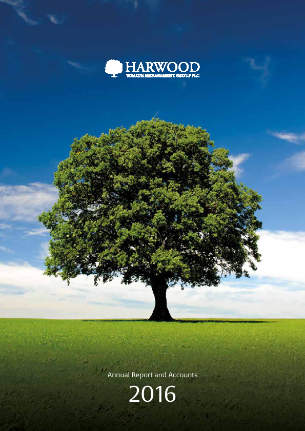 Harwood Wealth Management Group   annual report