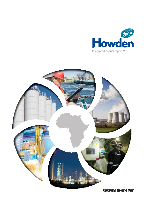 Howden Africa Holdings   annual report