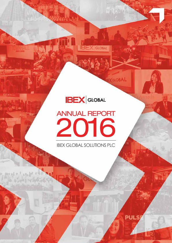 Ibex Global Solutions Plc   annual report