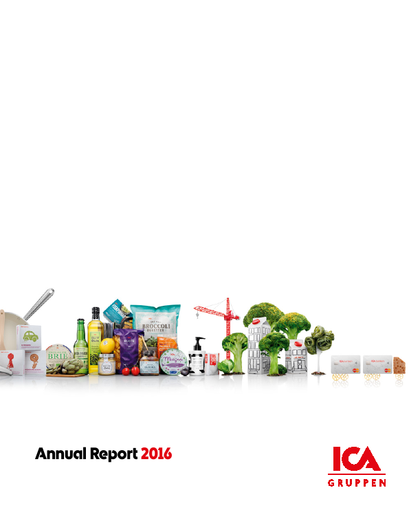 ICA Gruppen   annual report