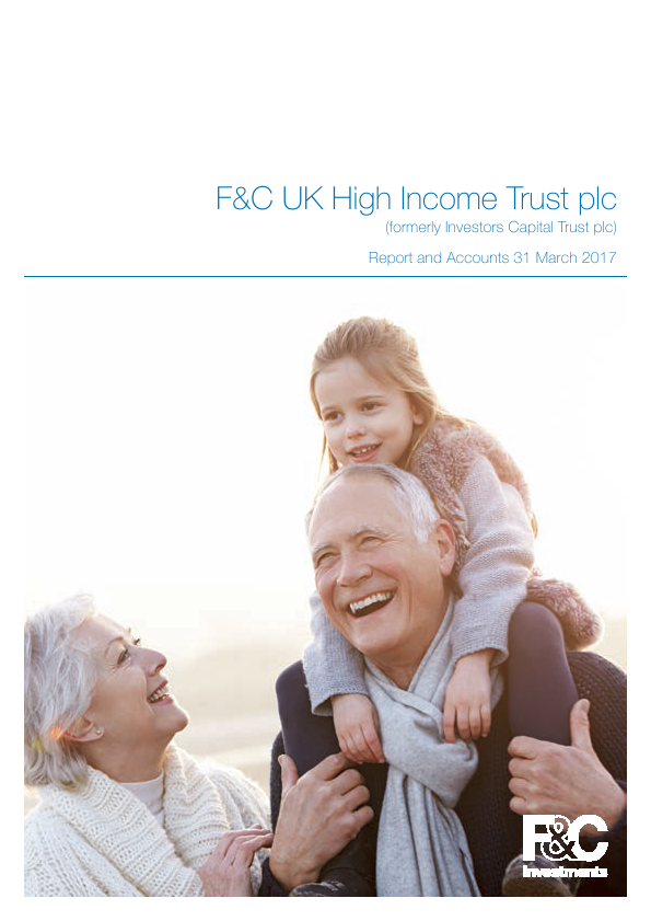 F&C UK High Income Trust plc (previously Investors Capital Trust Plc)   annual report