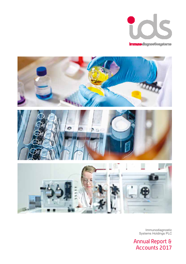 Immunodiagnostic Systems Holdings   annual report