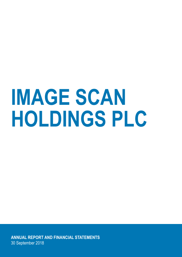 Image Scan Holdings   annual report