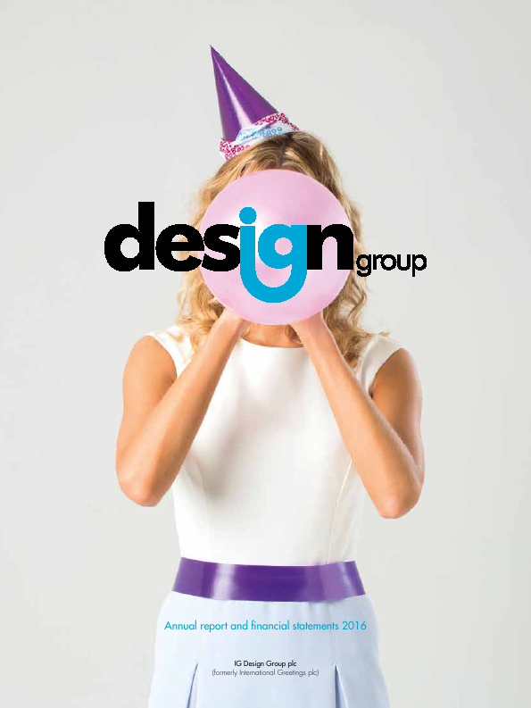 IG Design Group (Formally International Greetings)   annual report