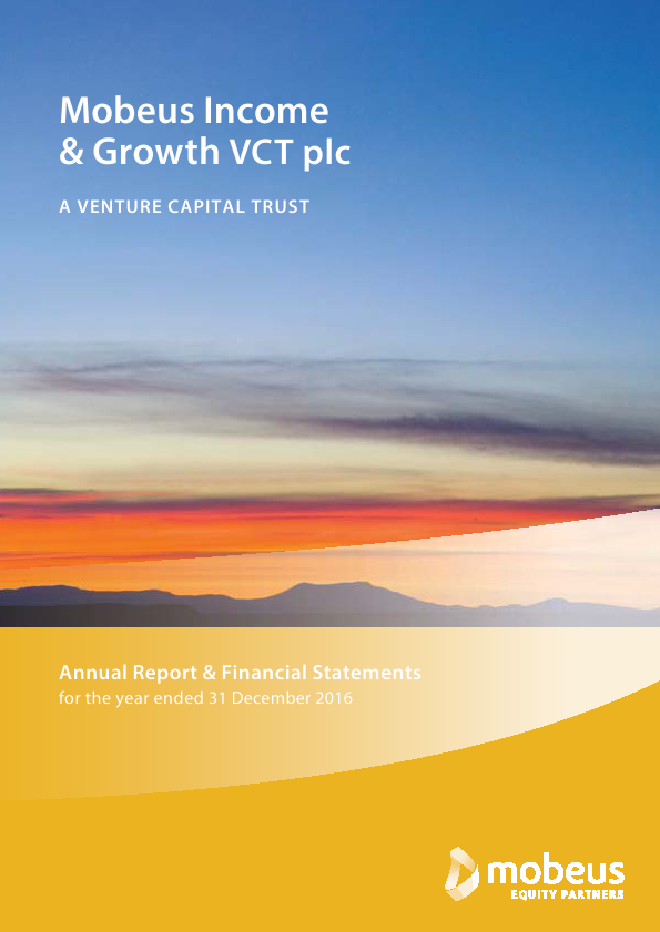 Income & Growth VCT Plc(The)   annual report