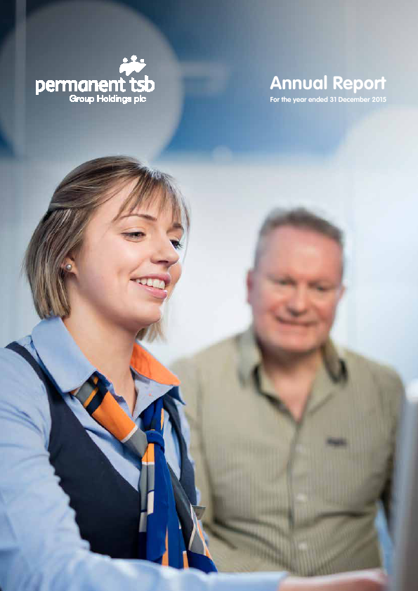 Permanent Tsb Group Holdings Plc   annual report