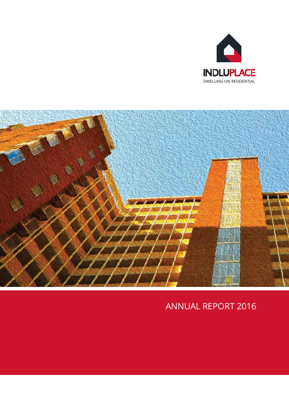 Indluplace Properties   annual report