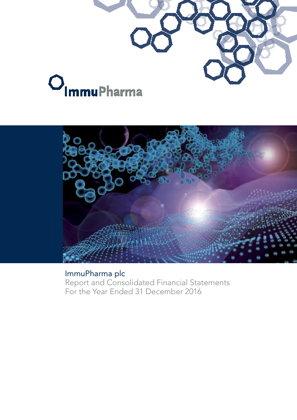 Immupharma   annual report