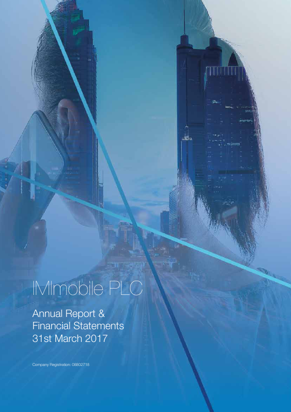 Imimobile Plc   annual report