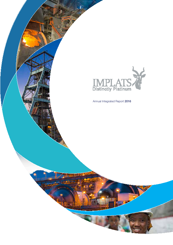 Impala Platinum Holdings   annual report