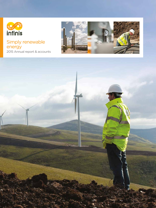 Infinis Energy Plc   annual report
