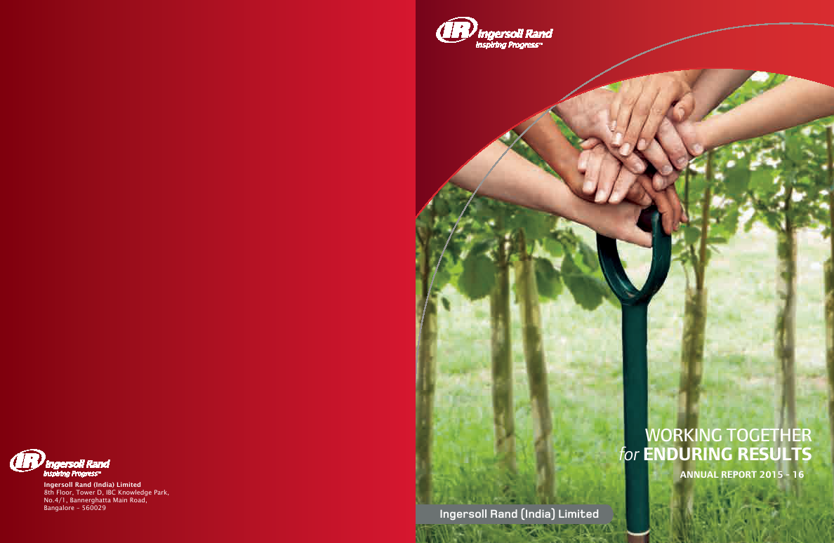 Ingersoll Rand (India)   annual report