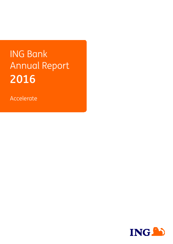 ING Group   annual report