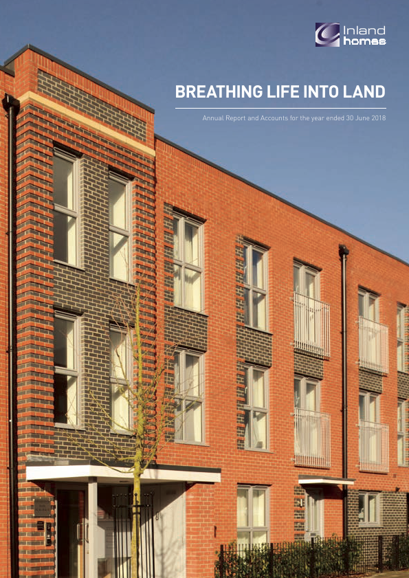 Inland Homes Plc   annual report