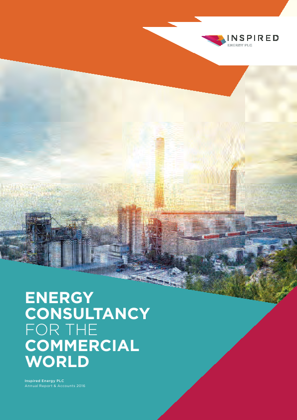 Inspired Energy Plc   annual report