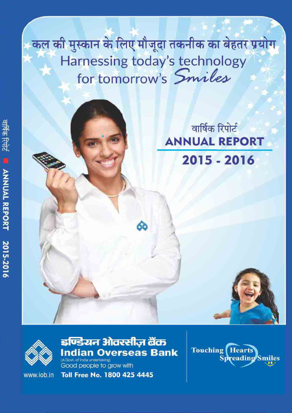 Indian Overseas Bank   annual report
