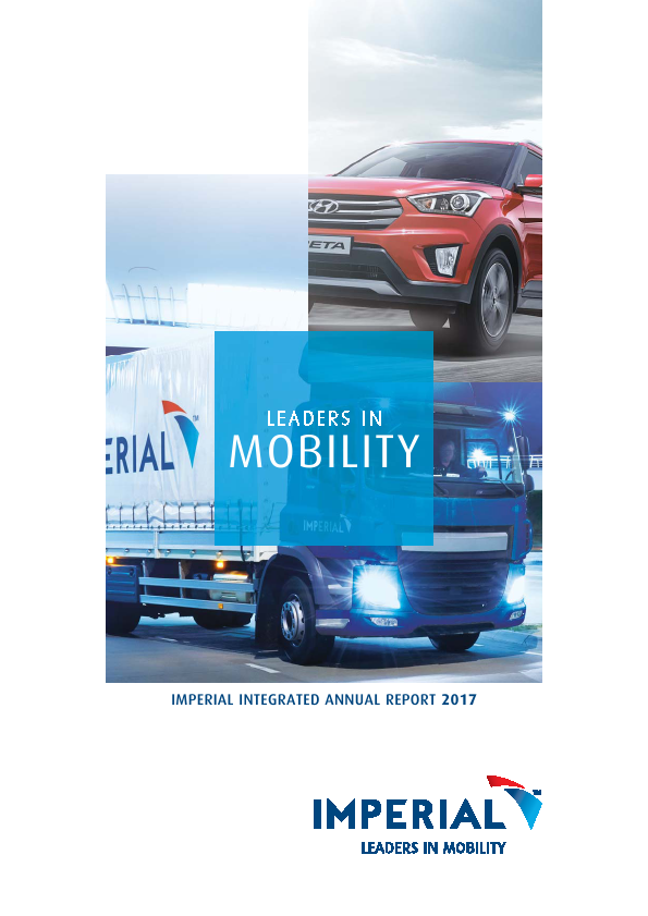 Imperial Holdings   annual report