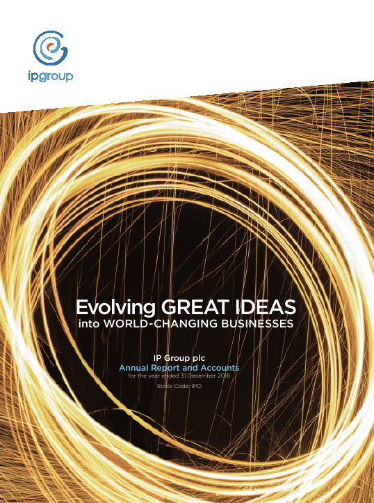 IP Group   annual report
