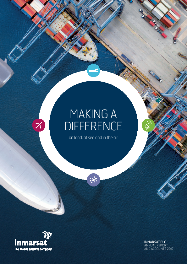 Inmarsat   annual report