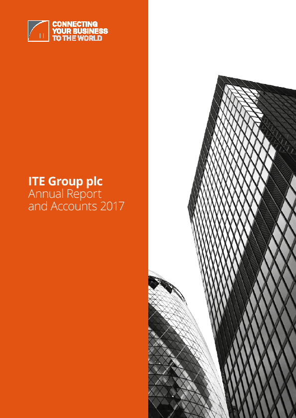 ITE Group   annual report