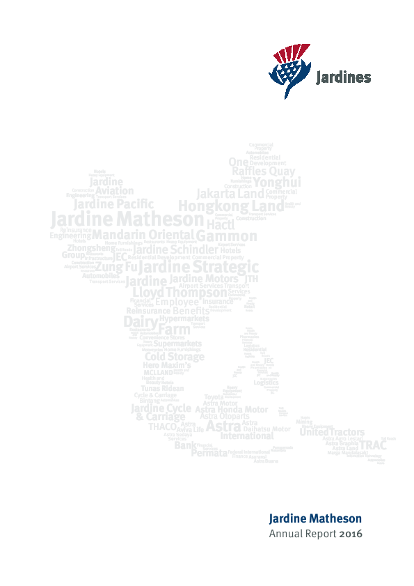Jardine Matheson Holdings   annual report