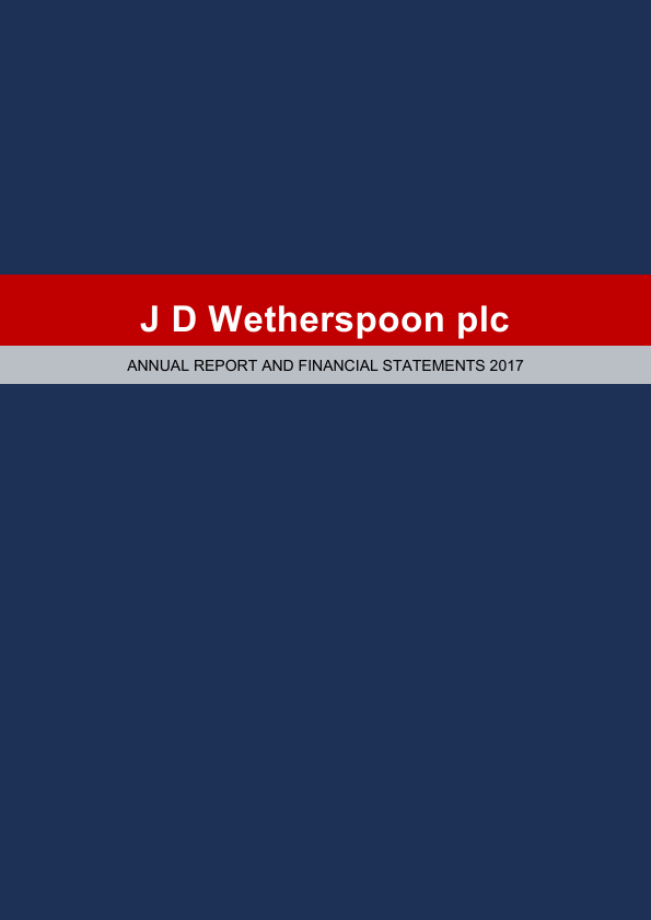 Wetherspoon(JD)   annual report