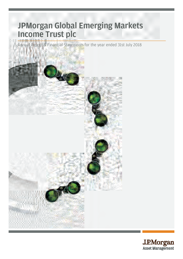 JP Morgan Global Emerging Markets Investment Trust Plc   annual report