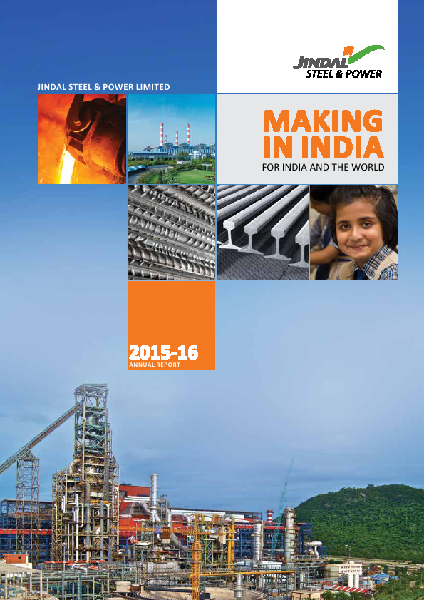 Jindal Steel and Power   annual report