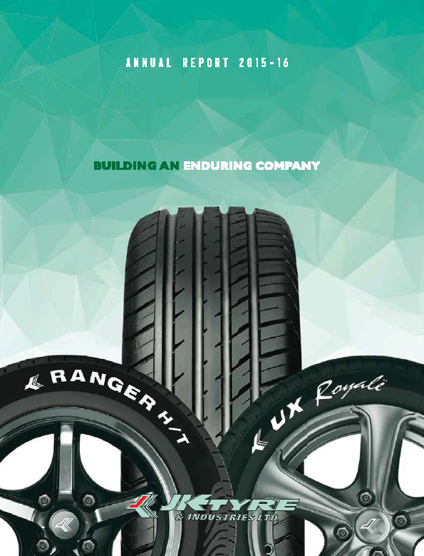 JK Tyre and Industries   annual report