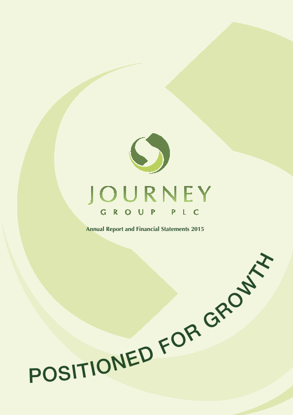 Journey Group Plc   annual report