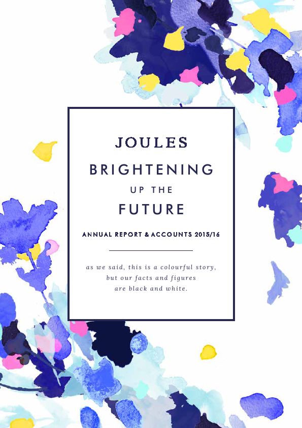 Joules Group   annual report