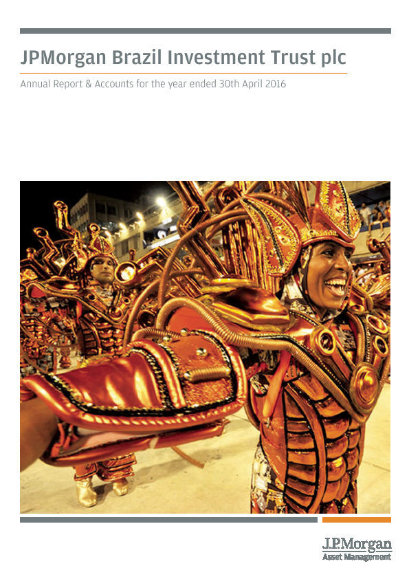JP Morgan Brazil Investment Trust   annual report